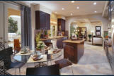 Kitchen at Sea Cove courtyard homes.