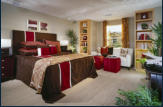 Bedroom at Sea Cove courtyard homes.