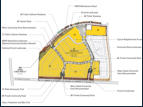 Sample of a detailed planning area within the project.